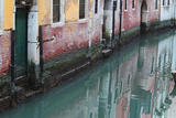 Buildings and Their Reflections in Canal Water Photographic Print by Joe Petersburger