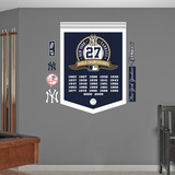 MLB New York Yankees World Series Championships Banner Wall Decal Sticker Wall Decal