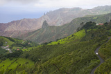 The Rugged Geography of Saint Helena Where Napoleon Was Held in Exile Photographic Print by Kent Kobersteen