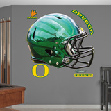 Oregon Liquid Thunder Green Helmet Wall Decal Sticker Wall Decal