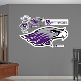 NCAA Wisconsin Whitewater Logo Wall Decal Sticker Wall Decal