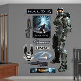 Master Chief Halo 4 Wall Decal Sticker Seinätarra