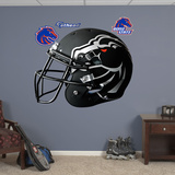 Boise State Broncos Black Helmet Wall Decal Sticker Wall Decal