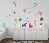 Origami Wall Decal Sticker Wall Decal