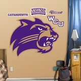 NCAA Western Carolina Catamounts Logo Wall Decal Sticker Wall Decal