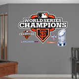 San Francisco Giants 2012 World Series Champions Logo Wall Decal Sticker Wall Decal