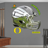 Oregon Liquid Carbon Helmet Wall Decal Sticker Wallstickers