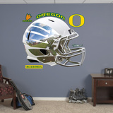 Oregon Liquid Storm White Helmet Wall Decal Sticker Wall Decal
