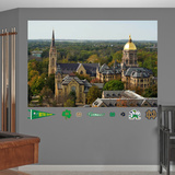 NCAA Notre Dame Fighting Irish Campus Mural Decal Sticker Wall Decal
