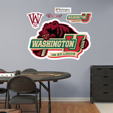 NCAA Washington U St Louis Logo Wall Decal Sticker Wall Decal