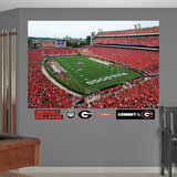 NCAA Georgia Bulldogs 2013 Stadium Mural Decal Sticker Wall Decal