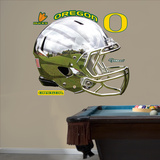 Oregon Liquid Metal Helmet Wall Decal Sticker Wall Decal