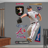 Atlanta Braves Craig Kimbrel Wall Decal Sticker Wall Decal
