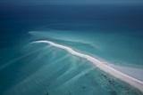 Beach On Medjumbe Island in the Quirimbas Archipelago of Mozambique Fotografisk tryk af Jad Davenport