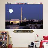 Washington DC Skyline 6 Wall Decal Sticker Veggoverføringsbilde