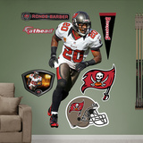 NFL Tampa Bay Buccaneers Ronde Barber Wall Decal Sticker Wall Decal
