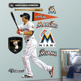 Miami Marlins Giancarlo (Mike) Stanton Wall Decal Sticker Wall Decal