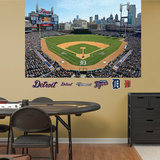 MLB Detroit Tigers 2013 Stadium Mural Decal Sticker Wall Decal