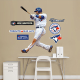 Toronto Blue Jays Jose Bautista 2012 Jr Wall Decal Sticker Wall Decal