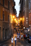 Via Dei Pettinari, in the Centro Storico Part of Rome, Filled with Locals and Tourists Photographic Print by David Yoder