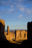A Scenic View of Arches National Park Fotografisk tryk af John Burcham