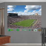 NCAA Notre Dame Fighting Irish Stadium Mural Decal Sticker Wall Decal
