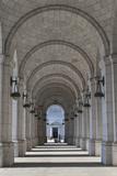 An Arched Corridor At Union Station Fotografisk tryk af Greg Dale
