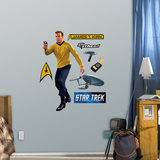 Star Trek Captain James T. Kirk - Fathead Jr. Wall Decal Sticker Wall Decal