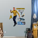 Star Trek Captain James T. Kirk - Fathead Jr. Wall Decal Sticker Wall Decal