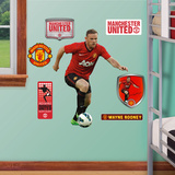 Manchester United Wayne Rooney 2012-13 Jr. Wall Decal Sticker Wall Decal