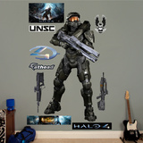 Battle Ready Master Chief Halo 4 Wall Decal Sticker Wall Decal