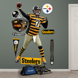 NFL Pittsburgh Steelers Ben Roethlisberger - Throwback Wall Decal Sticker Wall Decal
