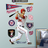 Washington Nationals Bryce Harper Wall Decal Sticker Wall Decal