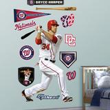Washington Nationals Bryce Harper Wall Decal Sticker Vinilo decorativo