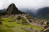 The Ruins At Machu Picchu Photographic Print by Kent Kobersteen
