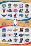 NBA Logos Sports Poster Posters