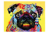 Pug Prints by Dean Russo