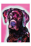 Black Lab Prints by Dean Russo