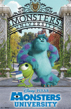Monsters University - Campus Movie Poster Prints