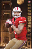 Colin Kaepernick San Francisco 49ers NFL Sports Poster Prints