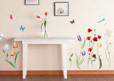 Spring Flowers Wall Decal Sticker Wall Decal