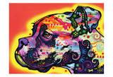 Profile Boxer Print by Dean Russo
