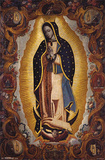 La Virgen De Guadalupe Religious Poster Plakat