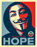 We Are The Hope Pop Art Poster Posters