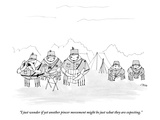 """I just wonder if yet another pincer movement might be just what they are …"" - New Yorker Cartoon Premium Giclee Print by Edward Steed"