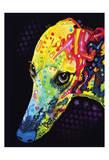 Greyhound Art by Dean Russo