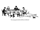 """""""You can get good cards but still have terrible luck."""" - New Yorker Cartoon Premium Giclee Print by Drew Dernavich"""