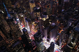 New York Times Square Aerial Photo Poster Posters