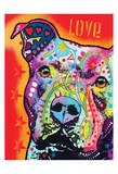 Thoughtful Pitbull Posters by Dean Russo