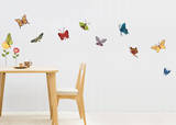 Summer Butterflies Wall Decal Sticker Wall Decal